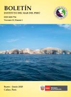 Boletín IMARPE, 2020 vol.35 nº 1 - Variada